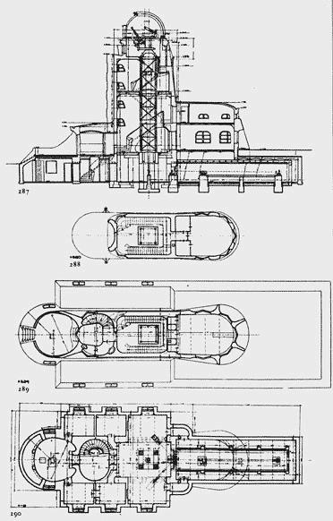 Disegni della Einsteinturm