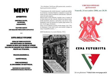 Cena Futurista - pagina 1