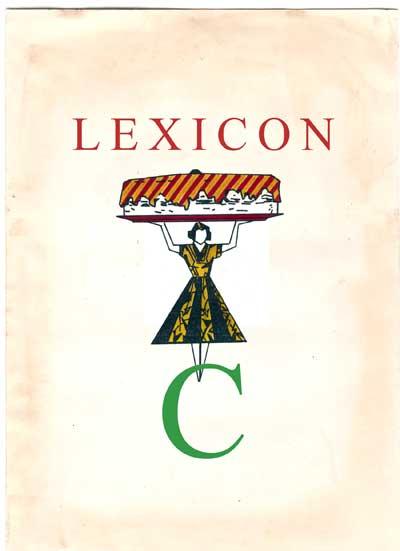 Copertina Lexicon lettera C