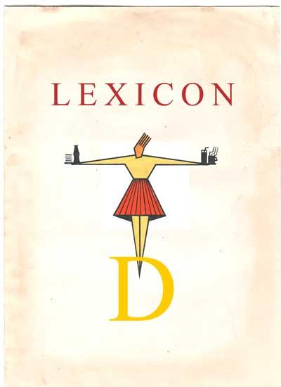 Copertina Lexicon lettera D