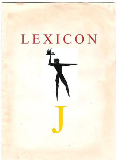 Copertina Lexicon lettera J