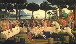 Botticelli - Nastagio degli Onesti